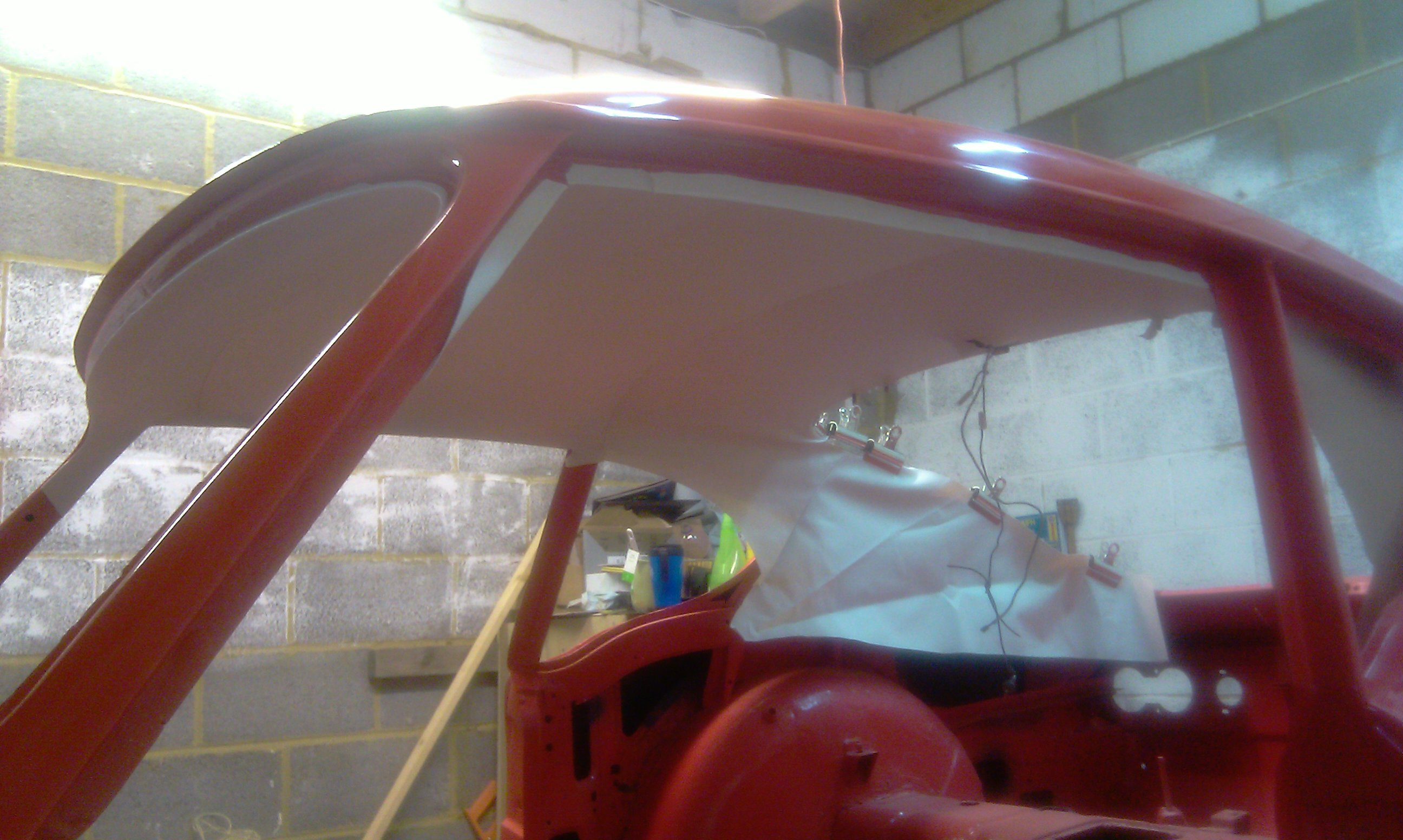 GT6 Side view od roof lining